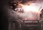 Hazy Fantasy Game Website Template