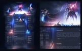 Warriors Fantasy Game Web Template