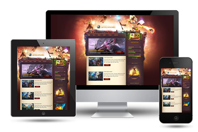 Game Portal Joomla Template