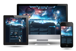 Star Citizen SciFi Joomla Template