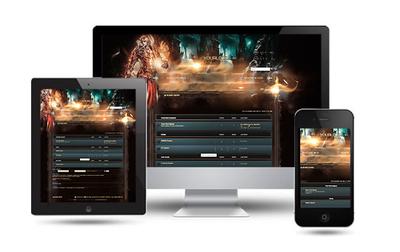 Game Server Forum Skin