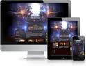 Heroes Online Joomla Template