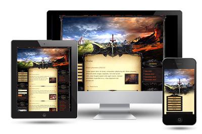 Dragon Land Wordpress Theme