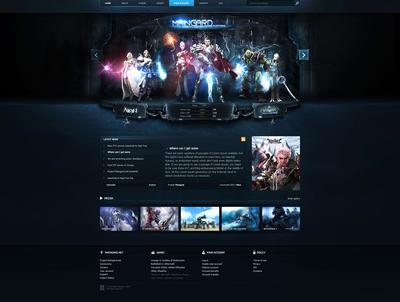 Guard Game Platform Web Template