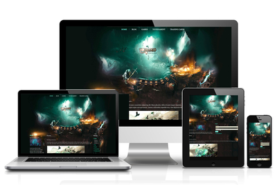 Magic Mine HTML Template