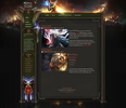 Role Playing Game HTML Template