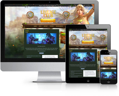 MMO Club Joomla Template