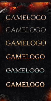 Epic Game Website Logos