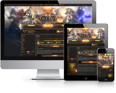 Linage Glory Joomla Template