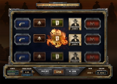 Western Casino Game Template