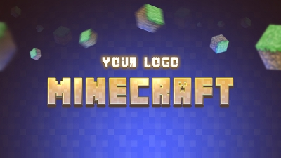 Minecraft Gamer Logo
