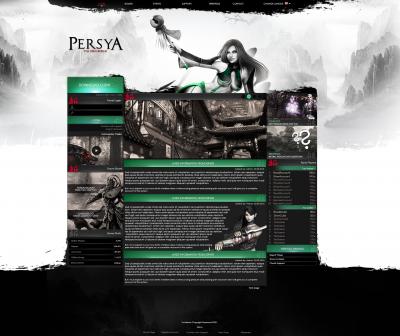 Black&White Design MMORPG