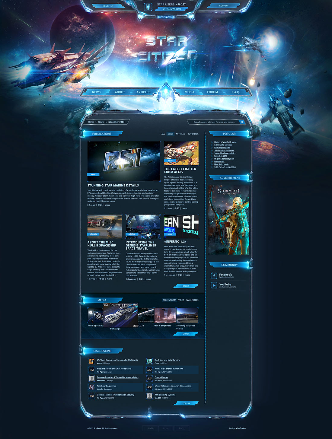 Create a Game Website with Games Website Templates
