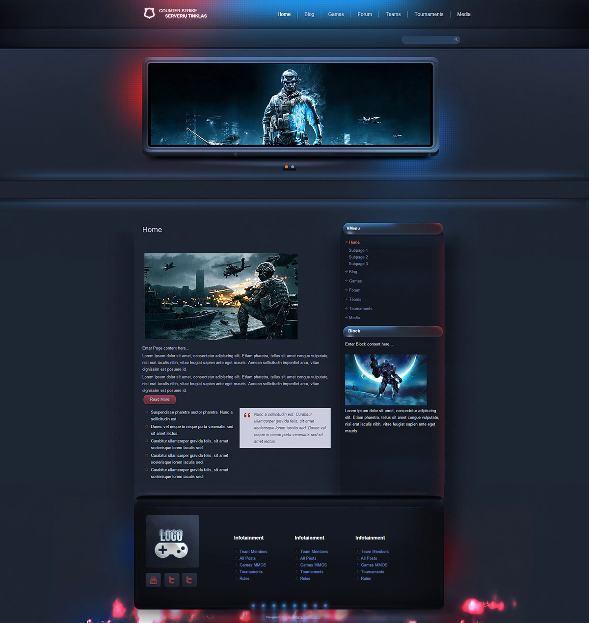 convert html template to wordpress theme online - esport gaming wordpress theme