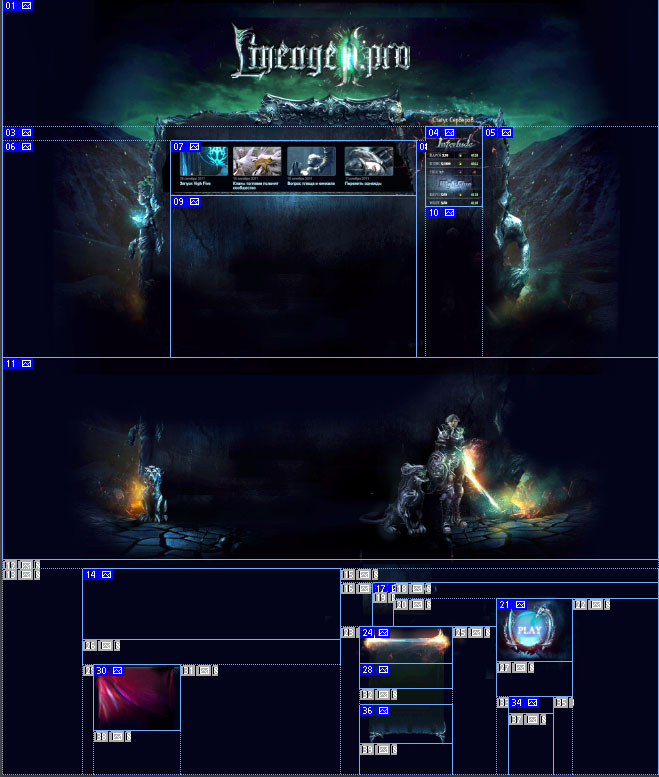 Mystic Game Website Template