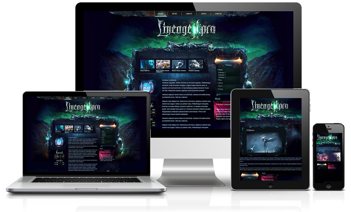 Gaming Homepage